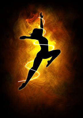 Miranda Gray - Dancing woman